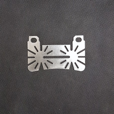 Bremsbelag Rückenplatte