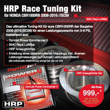 HRP Race Tuning Kit CBR1000RR SC59