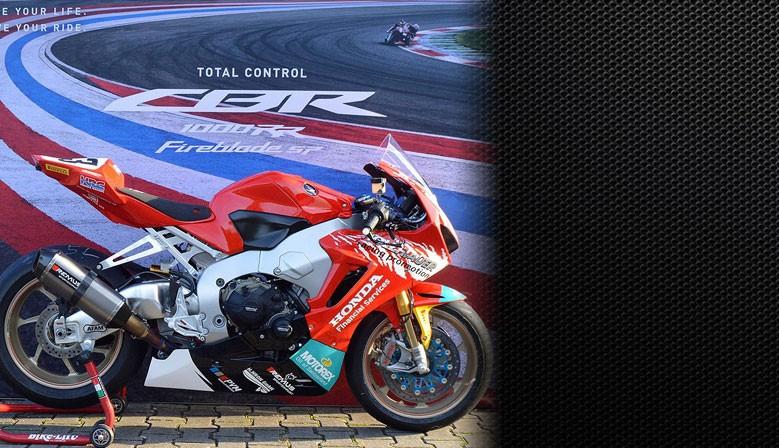Honda CBR 1000 RR SP SC77 Racing Bike HRC Elektrik